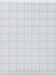 Fabric Easy Count Aida 16 ct, White 110 cm - Zweigart