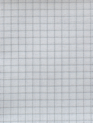 Fabric Easy Count Brittney Lugana 28 ct, White 50x70 cm - Zweigart
