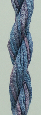 Waterlilies Periwinkle - The Caron Collection