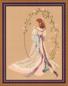 Cross Stitch Chart Under the Arbour of Love - Passione Ricamo