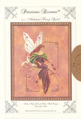 Cross Stitch Chart Autumn Fairy Spirit - Passione Ricamo