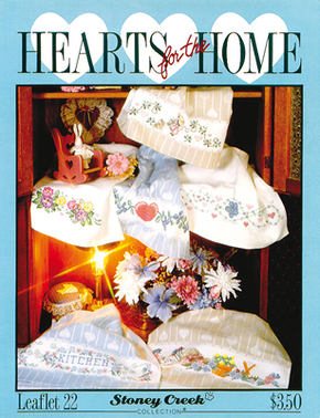 Cross Stitch Chart Hearts for the Home - Stoney Creek