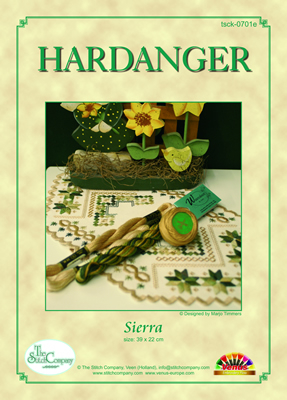 Hardanger Chart Sierra - The Stitch Company