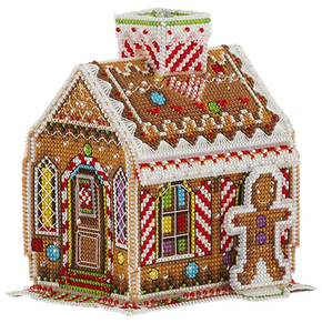 Cross Stitch Kit Gingerbread House - PANNA