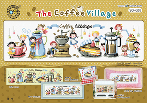Borduurpatroon The Coffee Village - Soda Stitch