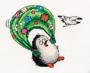 Cross stitch kit I'm Flying - PANNA